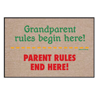 High Cotton Doormat - Grandparent Rules