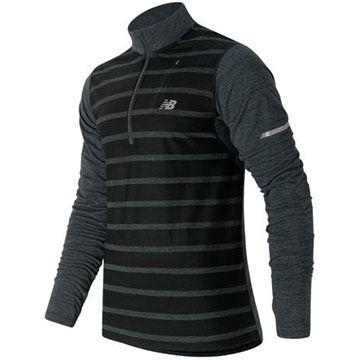 New Balance Mens Performance Merino Half Zip Pullover