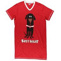 Lazy One Women's Ruff Night Dog PJ Nightshirt