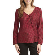 Habitat Women's Crossover V Long-Sleeve Top