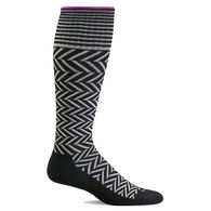 Goodhew Sockwell Women's Chevron Graduated Compression Circulator Sock