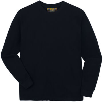 Oscar Sports Mens Thermal Crew-Neck Long-Sleeve Shirt
