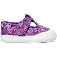 Vans Toddler Girls' Leena Glitter Mary Jane Shoe