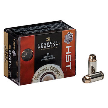 Federal Premium Personal Defense 9mm Luger Micro 150 Grain HST JHP Handgun Ammo (20)