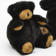 Unipak Designs Plush Black Bear Plumpee