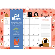 Cat Mom 17-Month 2021 Wall Calendar by Holly Jolley