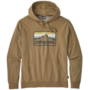Patagonia Mens Line Logo Badge Lightweight Hoody