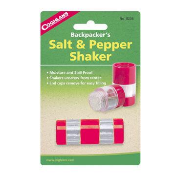 Coghlans Backpackers Salt & Pepper Shaker