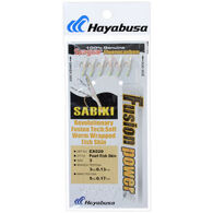 Hayabusa Sabiki Fusion Power Pearl Fish Skin Fishing Rig