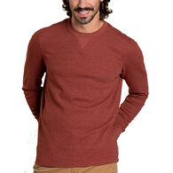 Toad&Co Men's Framer Dos Waffle Knit Hoodie Long-Sleeve Shirt
