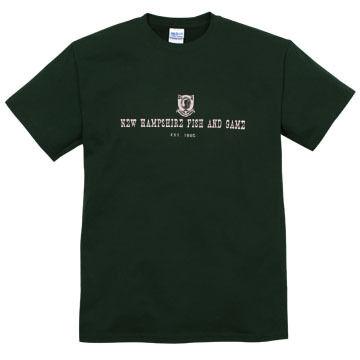 NH Fish and Game Mens Badge Short-Sleeve T-Shirt