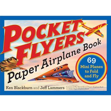 Pocket Flying Paper Airplane Book by Ken Blackburn & Jeff Lammers