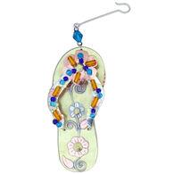 Pilgrim Imports Floral Flip-Flop Ornament