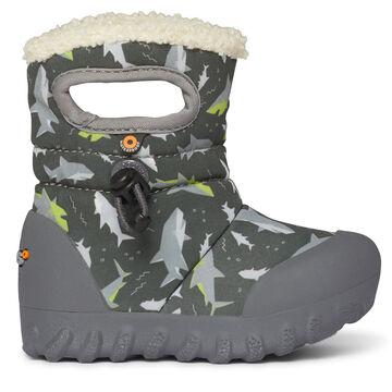 Bogs Infant/Toddler Boys B-Moc Shark Insulated Boot
