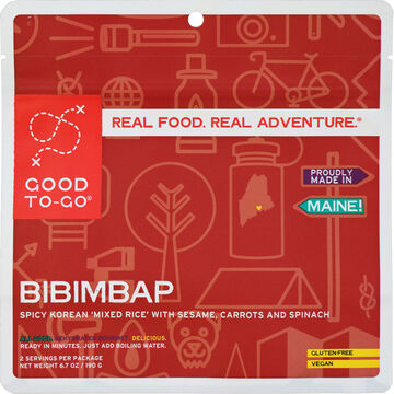 Good To-Go Korean Bibimbap - 2 Servings