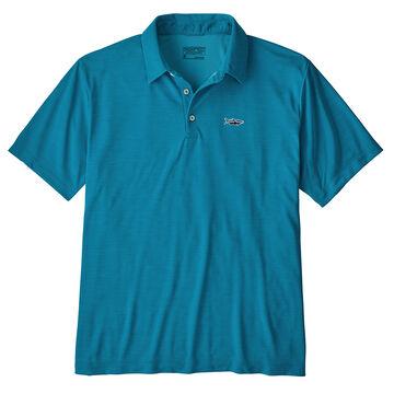 Patagonia Mens Sunshade Polo Tarpon Fitz Roy Short-Sleeve Shirt