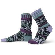 Solmate Socks Women's Wisteria Crew Sock