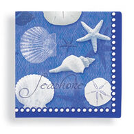 Cape Shore Blue Water Shells Napkin