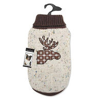 Zack & Zoey Northern Woods Moose Dog Sweater