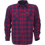 Ski The East Men's Woodbury Fleece-Lined Flannel Long-Sleeve Shirt