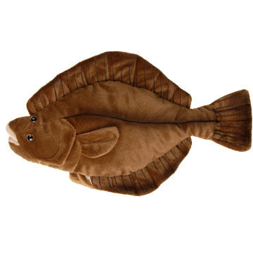 "Cabin Critters 17"" Plush Flounder"