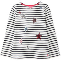 Joules Girl's Harbour Luxe Long-Sleeve Shirt