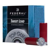 "Federal Top Gun Target 12 GA 2-3/4"" 1-1/8 oz. #9 Shotshell Ammo (250)"