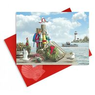 Cape Shore Holiday Helpers Embellished Boxed Christmas Cards