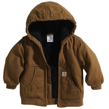 Carhartt Infant/Toddler Active Flannel Quilted-Lined Jacket