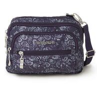 Baggallini Women's Triple Zip Bagg