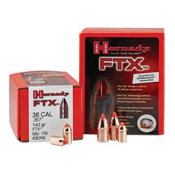 """Hornady FTX 45 Cal. (460 S&W) 200 Grain .452"""" Flex Tip Handgun Bullet (50)"""