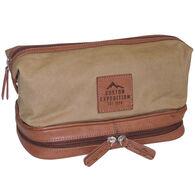 Buxton Men's Expedition Bottom Zip Travel Kit
