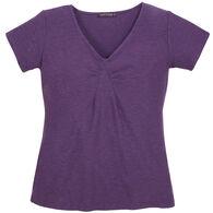 Cut Loose Women's Tuck Front Short-Sleeve Shirt