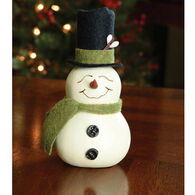 Meadowbrooke Gourds Meadowbrooke Small Boy Snowman Gourd