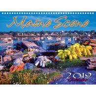 Maine Scene Maine Scene 2019 Wall Calendar