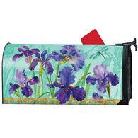 MailWraps Purple Iris Magnetic Mailbox Cover