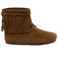 Minnetonka Women's High Top Back Zip Boot