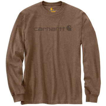 Carhartt Mens Logo Long-Sleeve T-Shirt