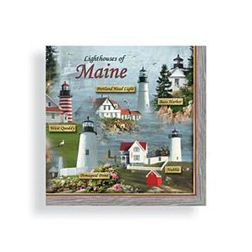 Cape Shore Lighthouse Napkin