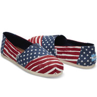 TOMS Women's Americana Alpargata Slip-On Shoe