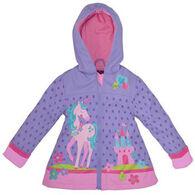 Stephen Joseph Girl's Pink Unicorn Raincoat