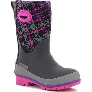 Western Chief Girls Rad Plaid Neoprene Winter Boot