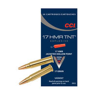 CCI 17 HMR TNT 17 Grain JHP Ammo (50)
