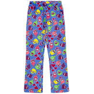Candy Pink Girl's Otter Pajama Pant