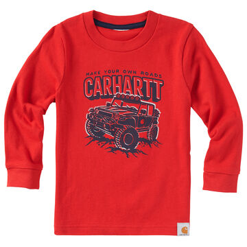 Carhartt Toddler Boys Your Own Road Long-Sleeve T-Shirt