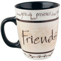 Carson Home Accents Heartnotes Friend Mug