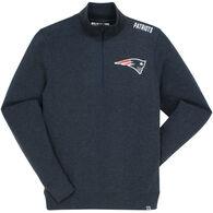 47 Brand Men's New England Patriots Head 1/4-Zip Sweatshirt