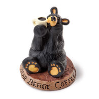 Big Sky Carvers Coffee Bear Figurine