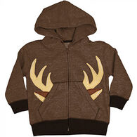Buck Wear Toddler Boys' Big Buck Applique Sweatshirt