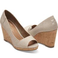 TOMS Women's Stella Open Toe Wedge Shoe
